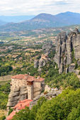 Holy Monastery of Rousanou in Meteora — Stock fotografie