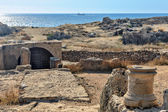 Archaeological museum in Paphos on Cyprus — Stock Photo