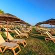 Resort beach — Stockfoto