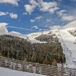 Ski resort in Austrian Alps — Stock Photo