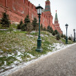 Moscow Kremlin wall — Stock Photo