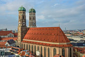 Cathedral Frauenkirche in Munich, Bavaria — Stock Photo