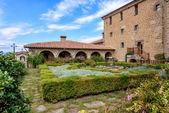 在希腊米特奥拉修道院的花园里 — 图库照片