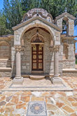 Small church in village on Cyprus — Stock Photo