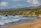 Coast of Akamas peninsula on Cyprus — Stock Photo