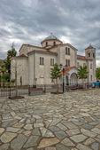 Kościół w kastraki village Grecja w pobliżu Meteory — Zdjęcie stockowe