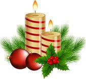 Christmas background — Vetor de Stock