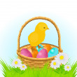 Easter background — Stock Vector #5303854