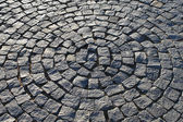 Pavement in the form of a circle — Stock Photo