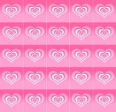 Patrón de corazones abstractos — Foto de Stock