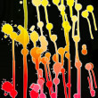 Abstract color blots - Stock Photo