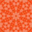 Abstract orange background with pattern - Stock Photo