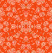 Abstract orange background with pattern — Stock Photo