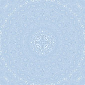 Abstract blue pattern on white — Stock Photo