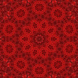 Abstract red pattern - Stock Photo