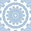 Abstract blue pattern on white - 图库照片