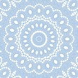 Abstract blue pattern on white - ストック写真