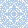 Abstract blue pattern on white - Stock fotografie