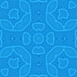 Abstract blue pattern - Foto Stock