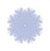 Abstract snowflake — Stock Photo