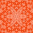 Abstract orange background with pattern — Stock Photo #26365759