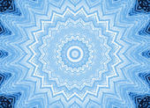 Blue background with abstract foam pattern — Stock Photo