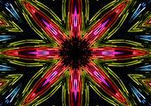 黒の抽象的なパターン — ストック写真