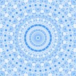 Abstract blue pattern — Foto Stock