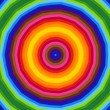 Bright radial pattern — Stock Photo