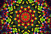 Bright background with abstract bokeh pattern — 图库照片