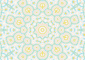 Abstract color pattern on white background — Stock Photo