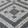 Paving stones street with pattern — Stock Photo #37838073