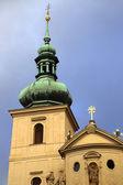 Church of St. Havel in Prague, Czech Republic — Foto Stock