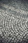 鹅卵石铺就的街道 — 图库照片