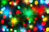 Holiday unfocused lights — ストック写真