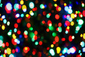Holiday color unfocused lights — Stock Photo