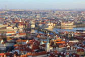 Panoramic view from Prague, Czech Republic — Stock Photo