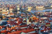 Vista panoramica da praga, repubblica ceca — Foto Stock