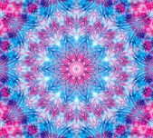 Color abstract concentric pattern — 图库照片
