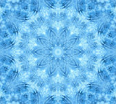 Blue abstract concentric pattern — 图库照片