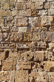 Old stone wall — Stockfoto