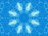 Blue background with abstract pattern — Stock Photo