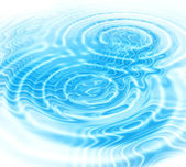 Blue water ripples abstract background  — Stock Photo