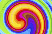 Color swirl abstract background — Stock Photo