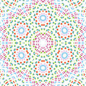 Abstract color pattern on white — Stock Photo