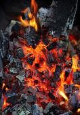 燃えている石炭 — ストック写真