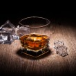 Whiskey in glass — Stock Photo #21217847