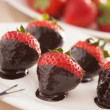 Strawberries in chocolate — Stock Photo #30251605