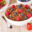 Muesli with berries — ストック写真