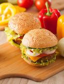 Hambúrguer — Fotografia Stock
